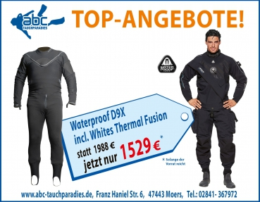 Waterproof D9X incl. Unterzieher Thermal Fusion