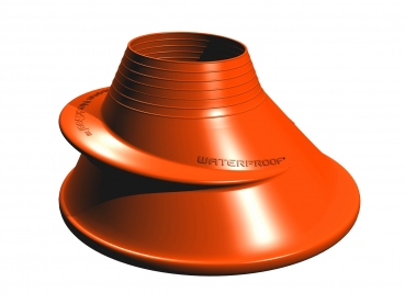 Waterproof Silicon Halsmanschetten orange