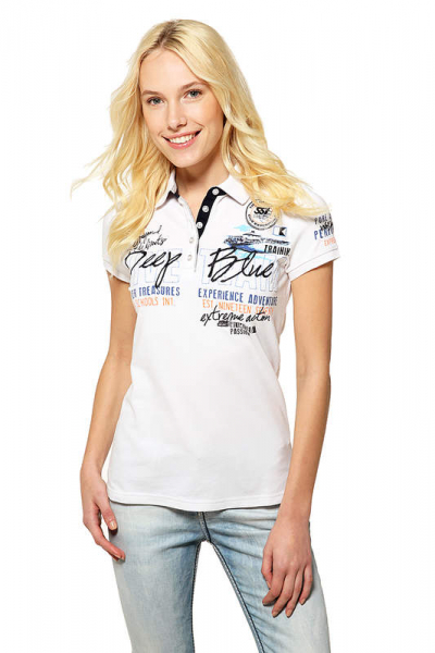 SSI POLO SHIRT Lady Deep Blue - abc-tauchparadies