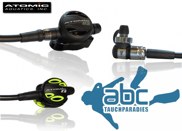 Atomic B2 1. + 2. Stufe Atemregler incl. Octopus Z2