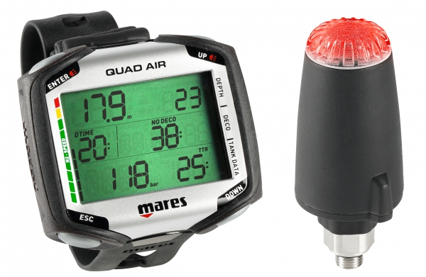 Mares Quad Air mit Transmitter (Sender) - NEW