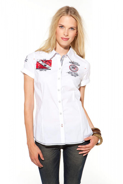 SSI Blusen-SHIRT Shortsleeve Lady Int. Dive Team